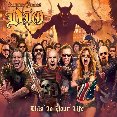 "Ronnie James Dio ""This Is Your Life"" Tribute Album CD"